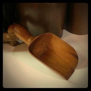 Antique Wooden Grain Scoop